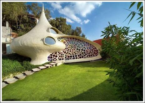 Casa futurista taringa for Casas futuristas