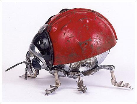 Animales de metal, excelente arte